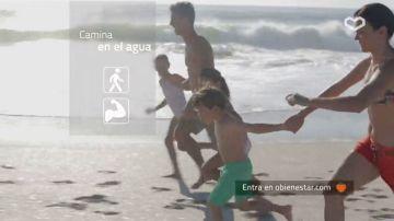 Correr dentro del agua aumentará nuestra resistencia aeróbica sin apenas darnos cuenta