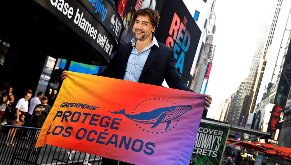 Javier Bardem y Greenpeace piden a la ONU un tratado para los océanos
