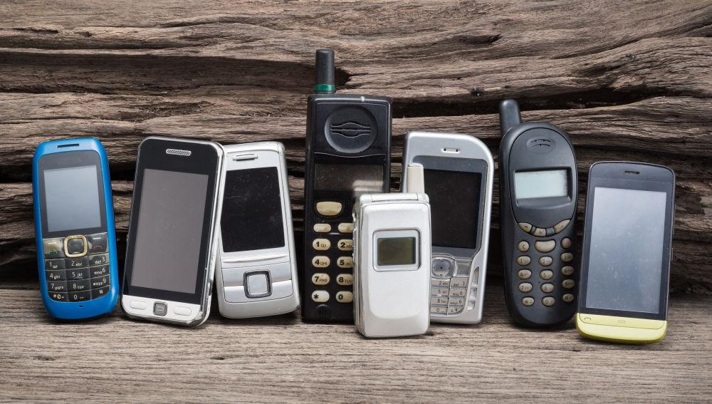 Teléfonos que guardan oro