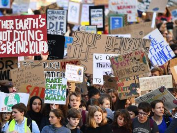 Movilizaciones con motivo de la Global Climate Strike