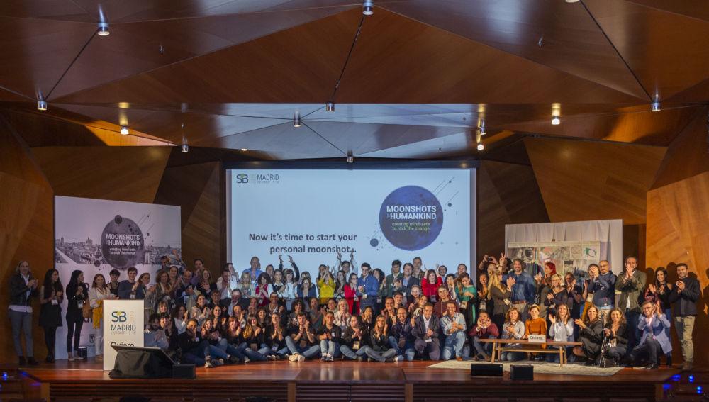 Foto de familia de Sustainable Brands Madrid 2019