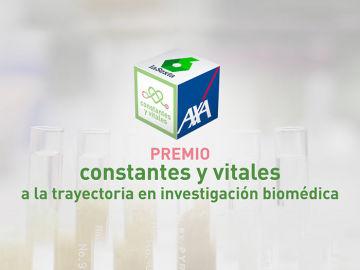 Premio Constantes y Vitales Trayectoria en Investigación Biomédica portada