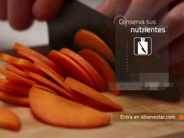 Pela las verduras poco antes de cocinarlas