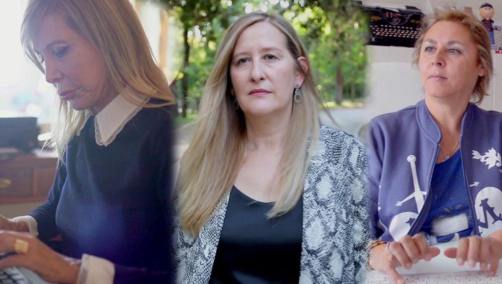 Pilar Eyre, Luz Gabás y Megan Maxwell en Crea Lectura