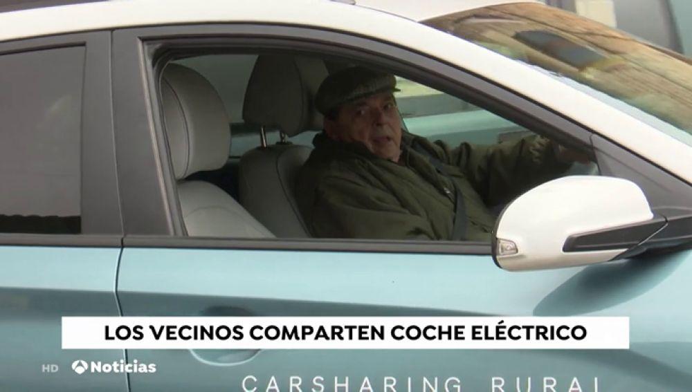 El coche compartido eléctrico llega a Campisábalos, el pueblo con el aire más limpio de España