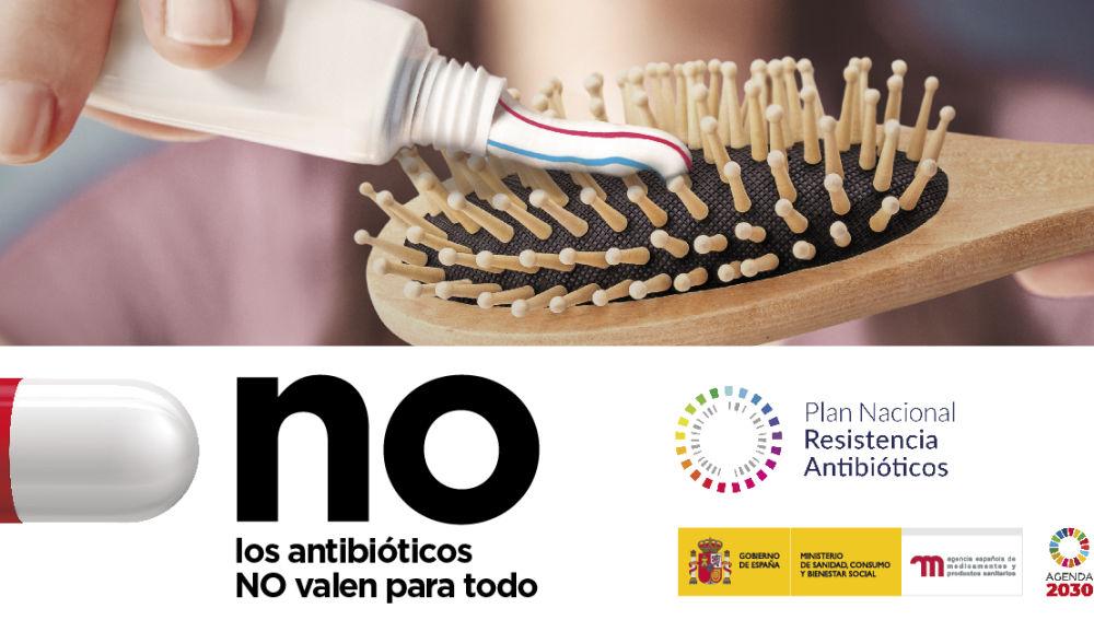Campaña 'Los antibióticos NO valen para todo'