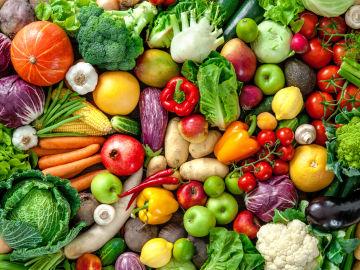 Surtido de verduras frescas