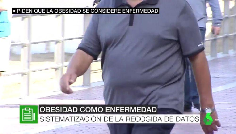 Sanidad pide reconocer la obesidad como una enfermedad