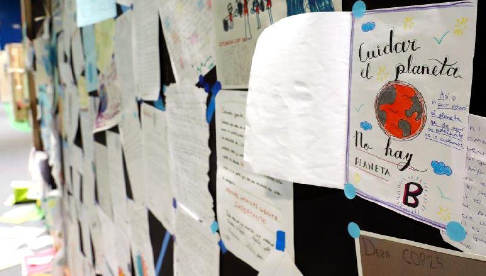 Las cartas de los niños que piden acciones climáticas