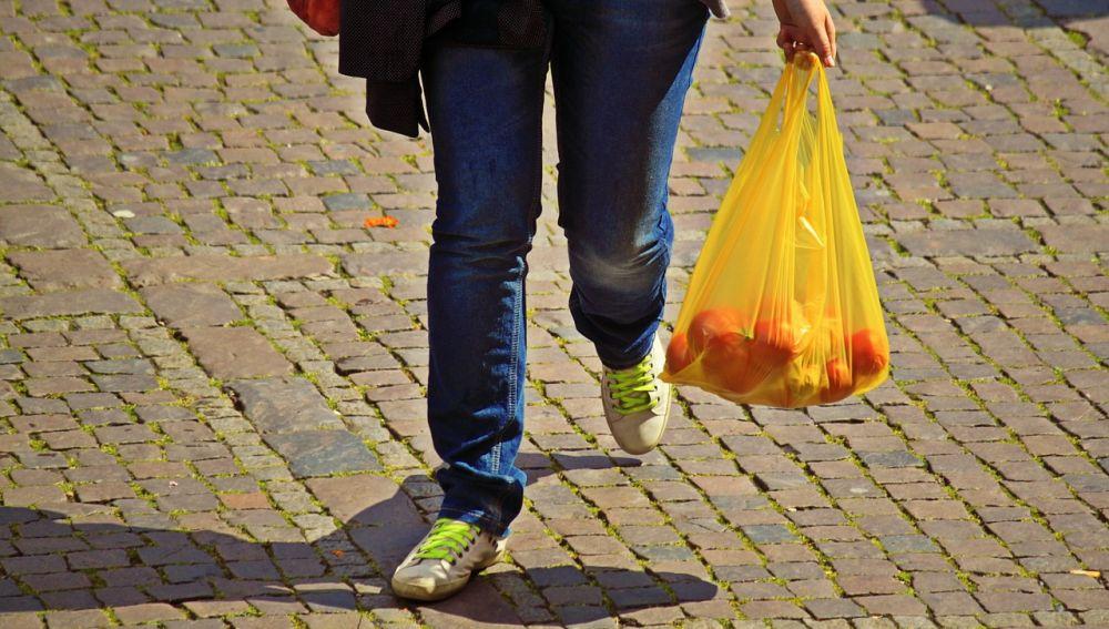 Bolsa de la compra de plástico