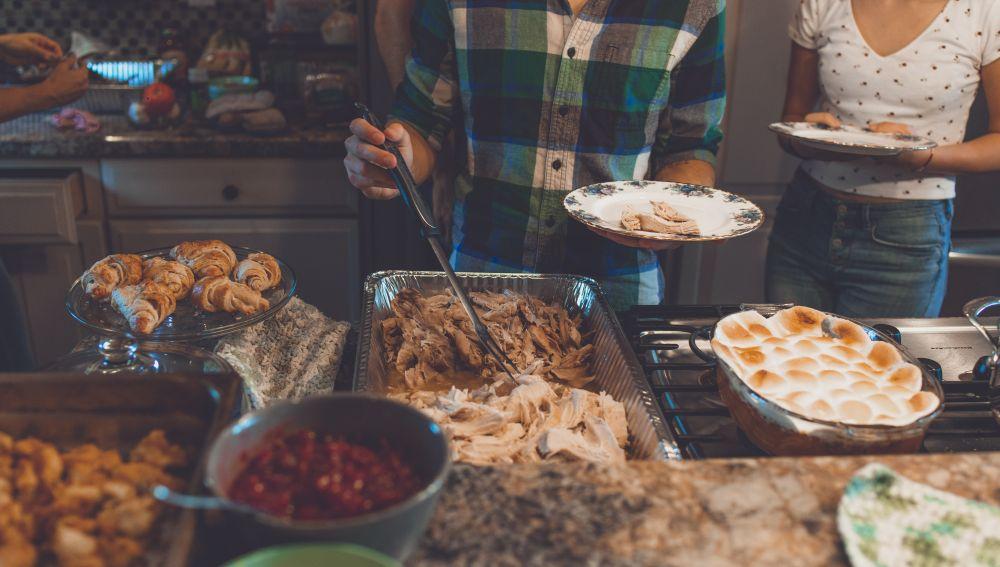 Las intoxicaciones alimentarias son comunes en Navidad