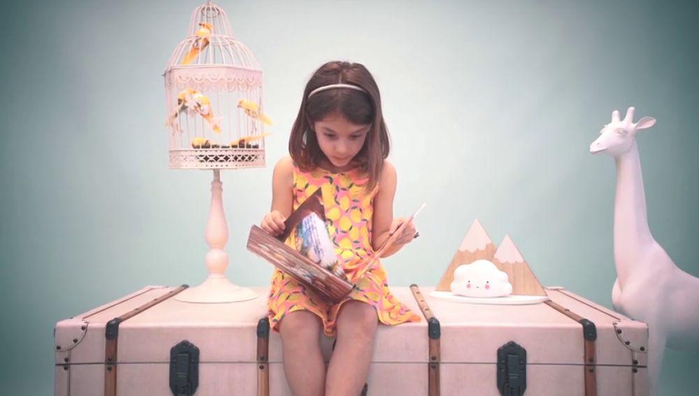 La empresa mumablue crea libros personalizados para incentivar a los niños a que lean