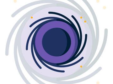 Observación del agujero negro