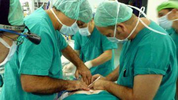 Operación para trasplantar un órgano
