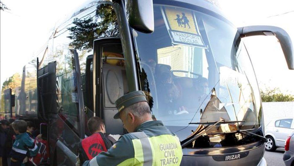 Imagen de archivo de un autobús escolar