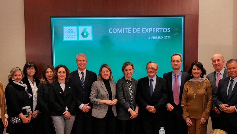 Miembros del Comité de expertos de Constantes y Vitales