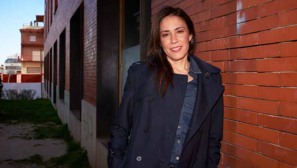 La inspectora Silvia Barrera.