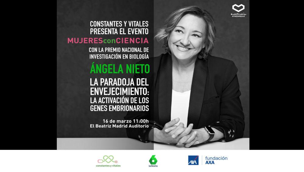 Ángela Nieto presenta 'Mujeres con Ciencia'