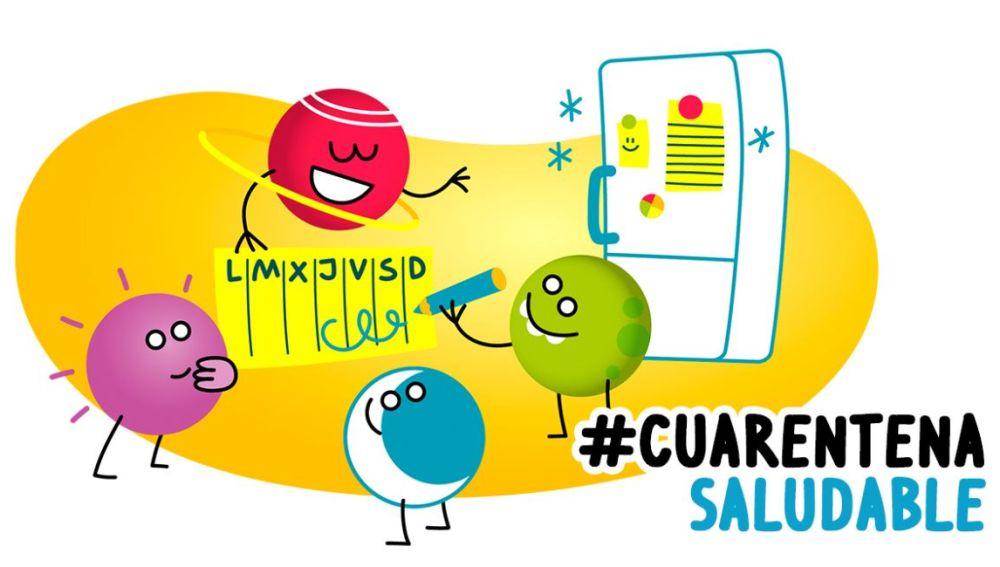 #CuarentenaSaludable
