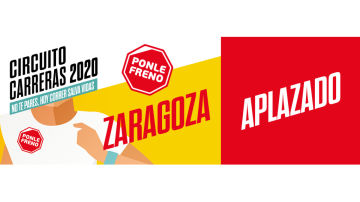 Aplazada la Carrera Ponle Freno de Zaragoza