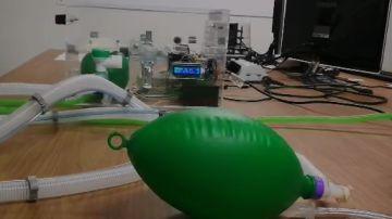 Coronavirus. Invento respirador