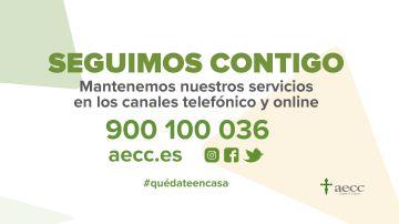 La Asociación Española contra el Cáncer ofrece todo tipo de recomendaciones para afrontar la emergencia sanitaria actual