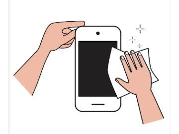 Infografía Limpia tu móvil