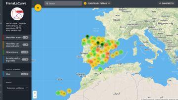Mapa de ayuda