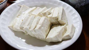 Plato de tofu