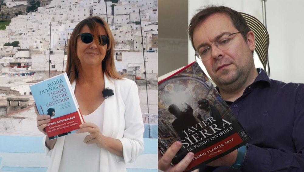 Javier Sierra y María Dueñas