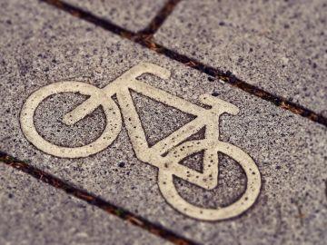 Señal de paso de bicicletas