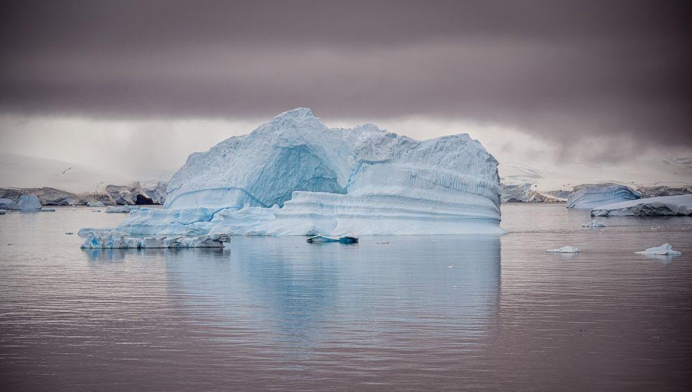 Bloques de hielo en la Antártida