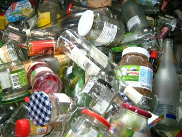 Envases y botellas de vidrio