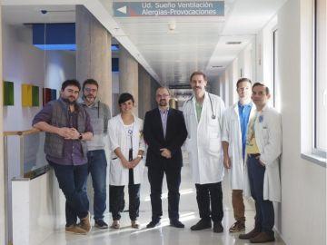 equipo de investigadores de la Universidad de Valladolid, el Hospital Río Hortega y el CIBER-BBN