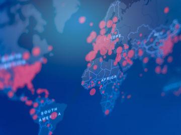 Los mapas de la pandemia