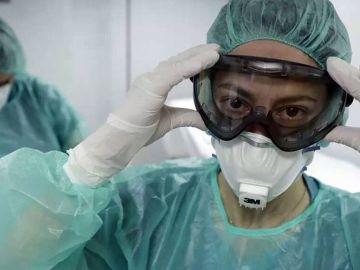 Los sanitarios denunciaron que carecían del material necesario