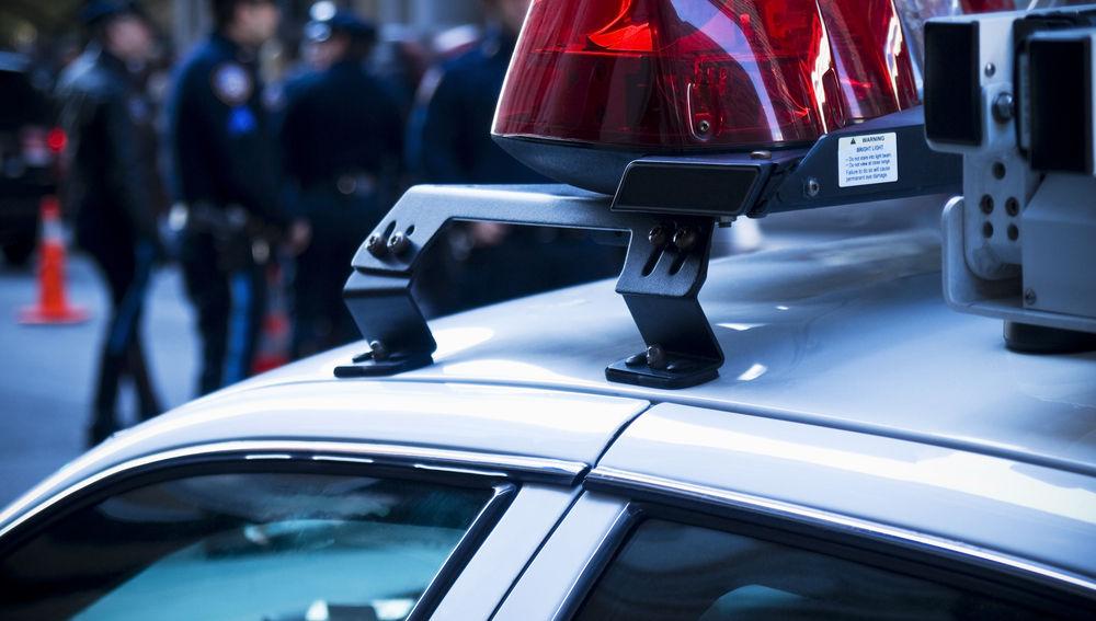 Desinfección coches de policía