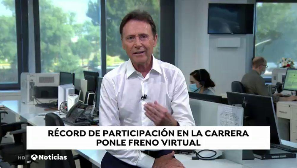 """Matías Prats: """"Gracias a todos los que habéis participado de manera real en la Ponle Freno Virtual"""""""