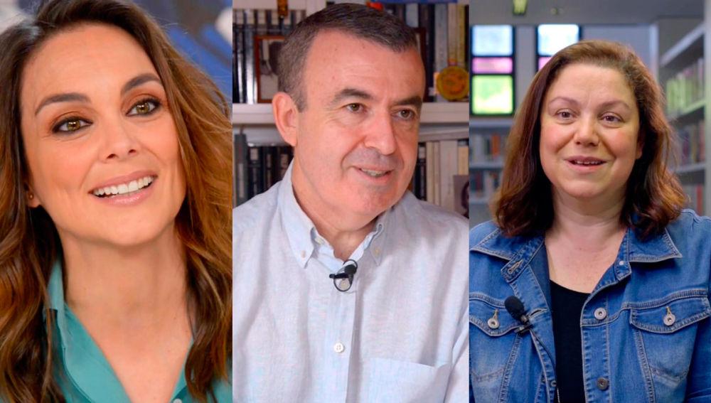Mónica Carrillo, Lorenzo Silva y Care Santos en Crea Lectura