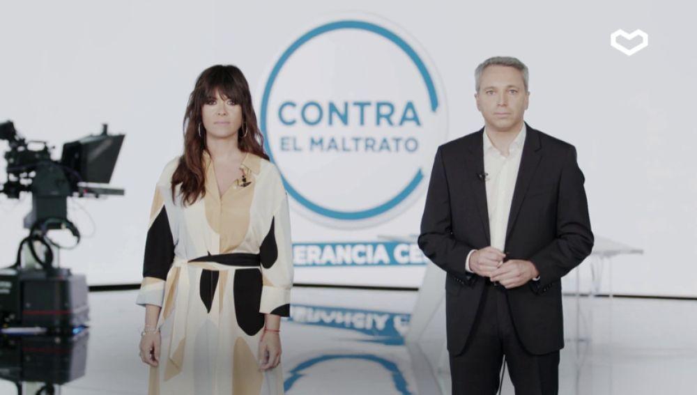 """Vicente Vallés y Vanesa Martín: """"Protégete a ti, protégelos a ellos, denúncialo"""""""