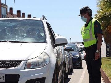 control de la Guardia Civil de Tráfico