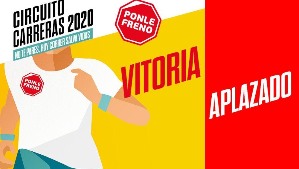 Aplazamiento carrera Vitoria 2020