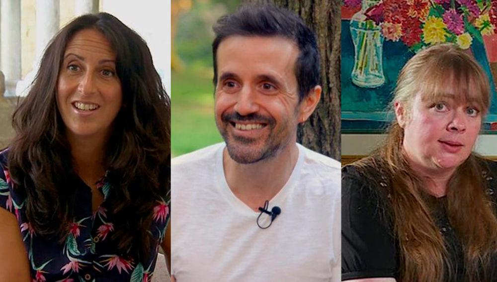María Oruña, Curro Cañete e Imogen Robertson en Crea Lectura