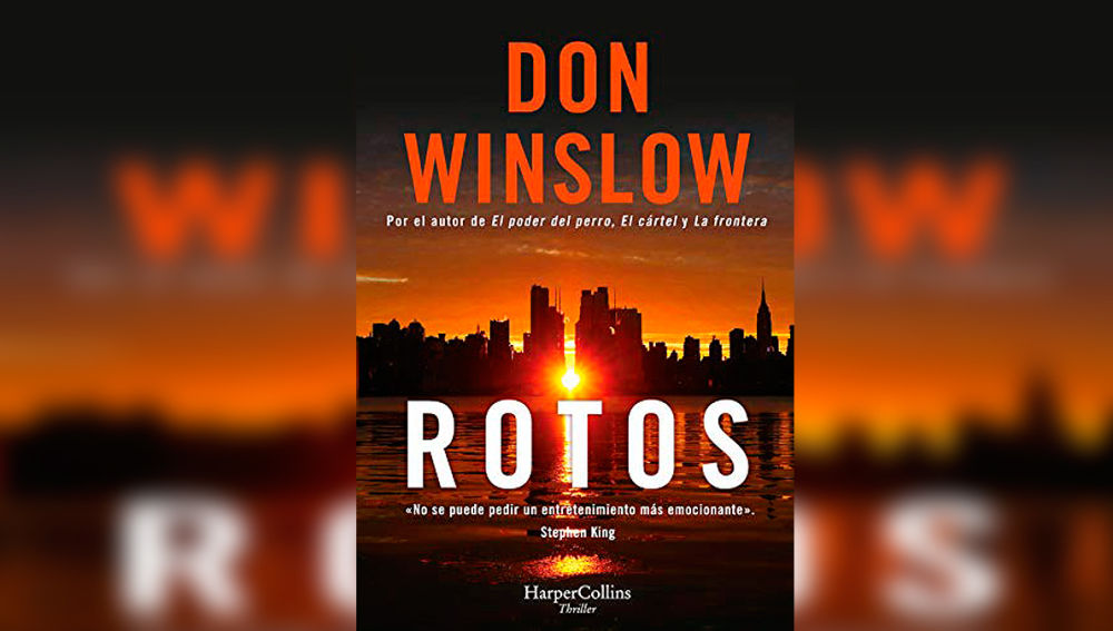 Don Winslow presenta 'Rotos'