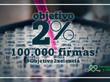100.000 firmas respaldan la iniciativa Objetivo 2%