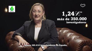 Si ahora somos 365.816 investigadores en España, ¿te imaginas cuántos seríamos si invirtiéramos el 2% del PIB en ciencia?