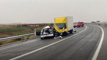 Accidente de tráfico en Torres de la Alameda