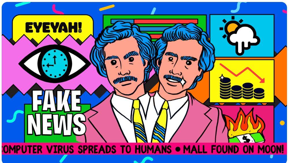 Derrotar a las 'fake news' con mucho arte