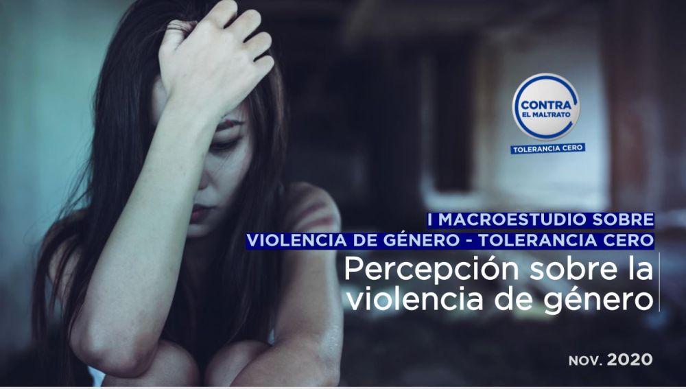 I Macroestudio sobre Violencia de Género-Tolerancia Cero