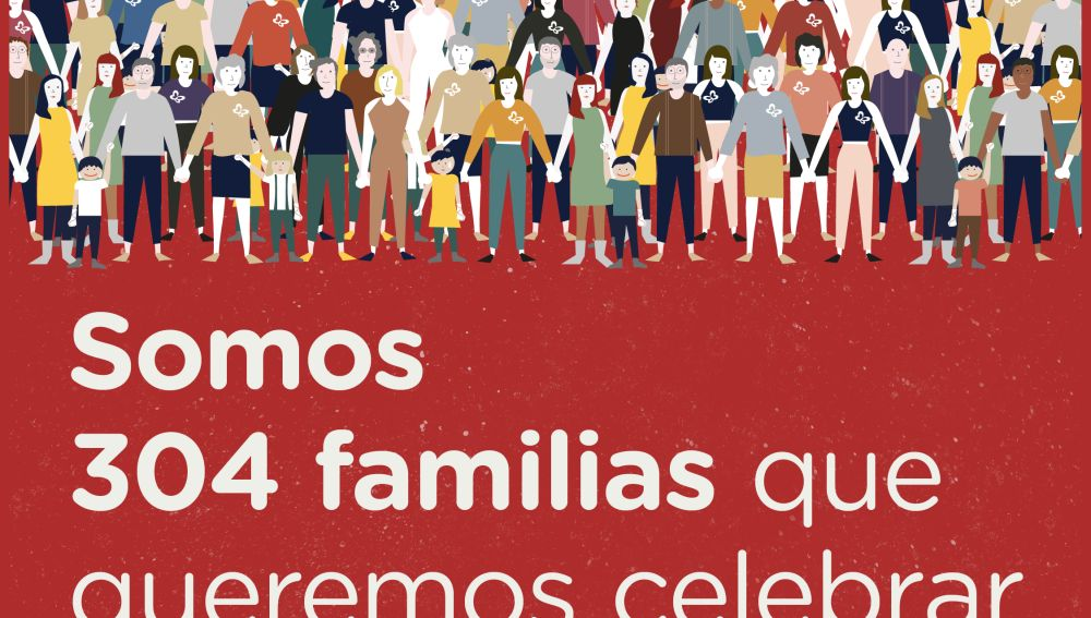 Campaña  'Somos 304 familias'